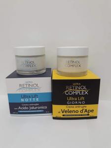 Crema Antirughe al Veleno d'Ape - con Acido Jaluronico Retinol Complex