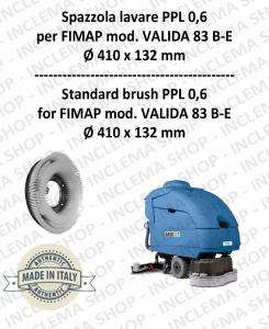 VALIDA 83 B- E spazzola lavare PPL 0,6 per lavapavimenti FIMAP