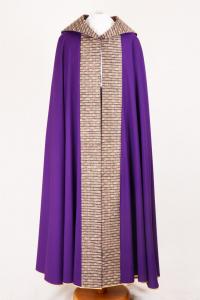 Piviale PM8 768 Viola - Pura Lana