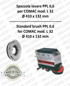 L 32 spazzola lavare PPL 0,6 per lavapavimenti COMAC