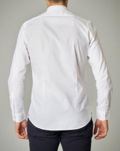 Camicia bianca in tinta unita