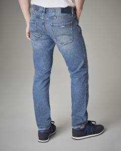 Jeans J13 slim-fit lavaggio chiaro