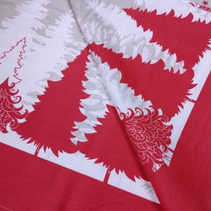 Tovaglia natalizia con tovaglioli rettangolare 150x220 cm TAG HOUSE - COCOON