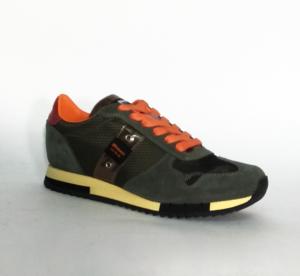 Sneaker marrone o verde militare Blauer