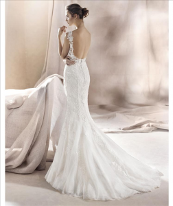 Abito sposa mod. SAURA linea WHITE ONE -PRONOVIAS