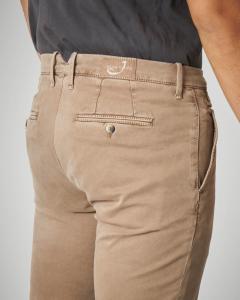 Pantalone chino beige
