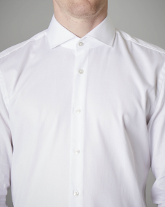 Camicia bianca in puro cotone