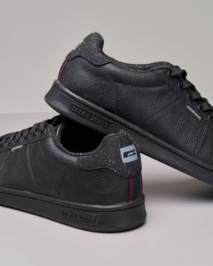 Sneakers nera bitessuto