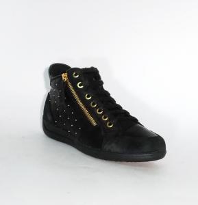 Sneaker mid nera Geox