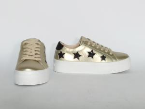 Sneaker oro stelle Guess