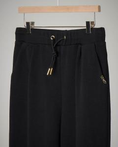 Pantalone nero in felpa 8-14 anni