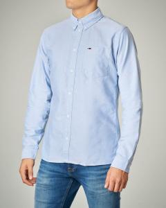 Camicia azzurra Oxford
