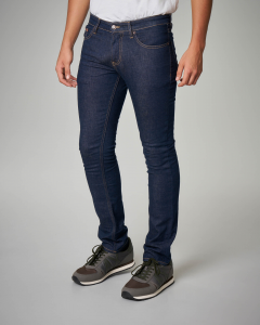Jeans slim-fit blu scuro