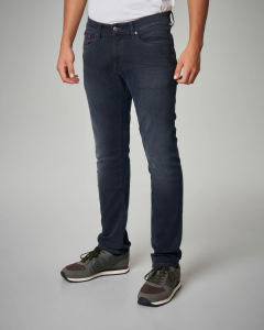 Jeans slim-fit nero