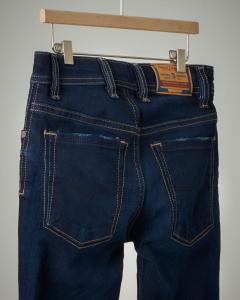 Jeans lavaggio scuro slim fit 8-16 anni