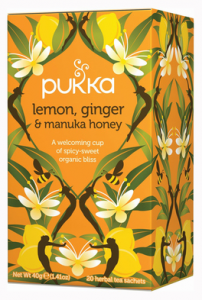 Pukka - lemon, ginger and Manuka honey herbal tea