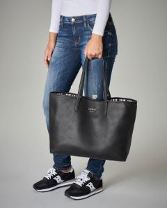 Shopping bag Vikky nera grande