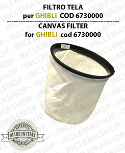FILTRO TELA cod: 6730000 per aspirapolvere GHIBLI, WIRBEL, SYNCLEAN