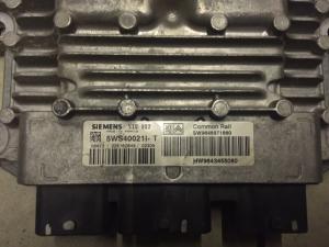 ECU Centralina motore sid 802 CITROEN C2 C3 5WS40021I-T SW9648971880 HW9643455080
