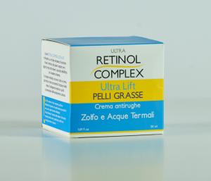 Crema Antirughe Pelli Grasse Retinol Complex