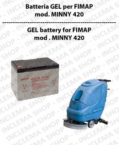 Batteria al GEL per lavapavimenti FIMAP modello MINNY 420
