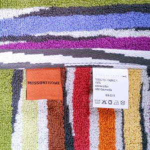 Missoni Home Bathrobe with hood multicolor striped JEFF 156 S