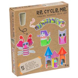 Rotoli di Carta Igienica Set Gioco Ecologico per Bambine Re-Cycle-Me