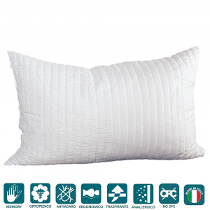 Cuscino In Memory Foam Certificato Oeko Tex.Cuscini Evergreenweb Materassi Beds