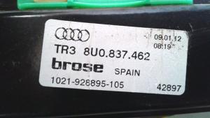 Alzacristallo elettrico porta anteriore destra dx usato originale Audi Q3 serie dal 2011 al 2015