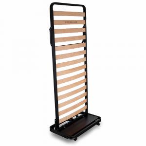 Rete Salvaspazio Ortopedica con doghe di legno chiusura verticale|Plumb