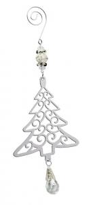 Decoro Albero per Albero di Natale con pendente cm.1,8x9x23h