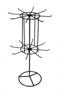 Espositore da banco cm.2,3x2,3x4,3h