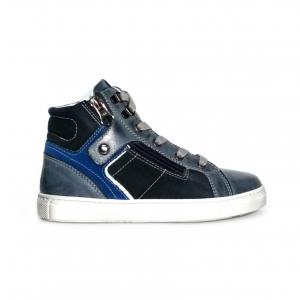 Sneaker mid blu Nero Giardini