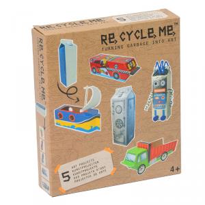 Latte di cartone Set Gioco Ecologico per Bambino Re-Cycle-Me