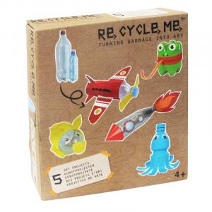 Bottiglie di plastica Set Gioco Ecologico per Bambino Re-Cycle-Me