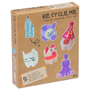Bottiglie di plastica Set Gioco Ecologico per Bambina Re-Cycle-Me