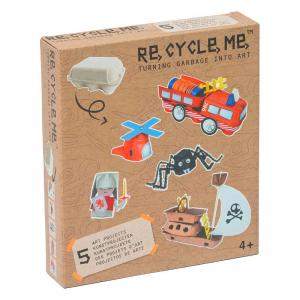 Contenitori uova Set Gioco Ecologico per Bambino Re-Cycle-Me