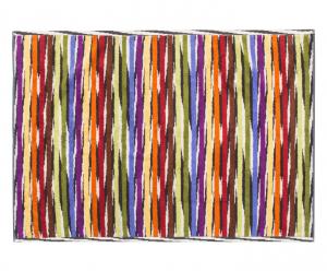 Missoni Home JEFF 156 tappeto bagno 60x90 cm righe multicolori