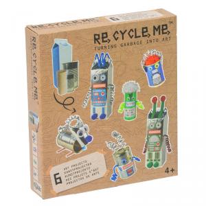 Il Mondo dei Robot Set Gioco Ecologico per Bambini Re-Cycle-Me