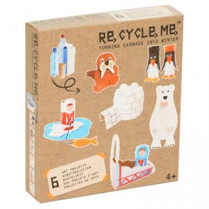 Inverno Set Gioco Ecologico per Bambini Re-Cycle-Me