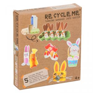 Pasqua Set Gioco Ecologico per Bambini Re-Cycle-Me