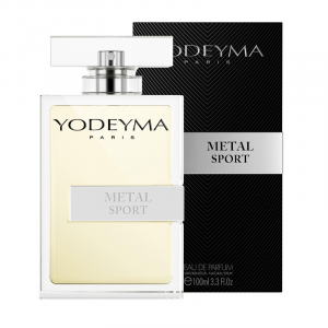 Yodeyma METAL SPORT Eau de Parfum 100ml Profumo Uomo