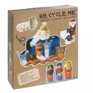 Presepe di Natale Set Gioco Ecologico per Bambini Re-Cycle-Me