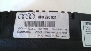Quadro strumenti completo usato originale Audi A3 serie dal 2003 al 2010