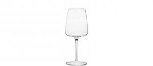 Calice Vino Bianco in Vetro Cristallino Sonoro 38cl Set di 4 pezzi cm.20h diam.6