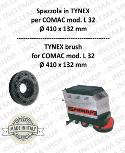 L 32 spazzola in TYNEX per lavapavimenti COMAC