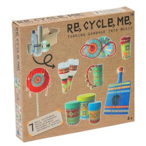 Trasforma i rifiuti in Musica Set Gioco Ecologico per Bambina Re-Cycle-Me