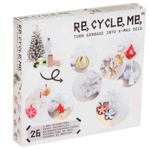 Albero di Natale Decorazioni Set Gioco Ecologico per Bambina Re-Cycle-Me