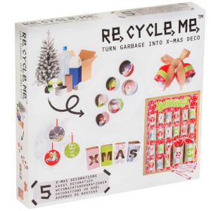 Decorazioni Natalizie Set Gioco Ecologico per Bambina Re-Cycle-Me