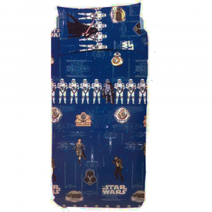 Duvet cover set single bed Bassetti STAR WARS LUKE glows in the dark